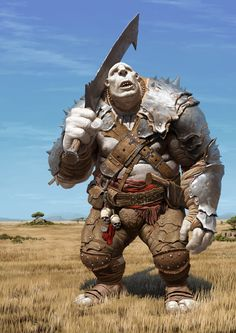 ArtStation - A troll, Un Lee