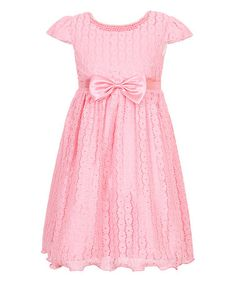 Another great find on #zulily! Watermelon Lace Party Princess Dress - Girls #zulilyfinds