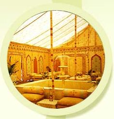 All types of tents and marquees.