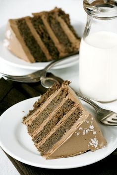 Salted Caramel Chocolate Cake..