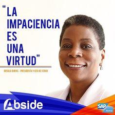 El mundo se encamina hacia un futuro sin papel. Sin embargo Ursula Burns ha logrado hacer de Xerox una empresa viable y rentable. La impaciencia siempre fue su fuerte y es ahora una de las mujeres empresarias más exitosas del mundo. Feliz día a todas esas mujeres que como ella vieron de la impaciencia una virtud. #HappyWomensDay #FelizDiaDeLaMujer  #Abside #bigdata #success #job #business #SAP #entrepreneur #SEO #technology #innovation #software#Venezuela #Tecnología #empresas#negocios…