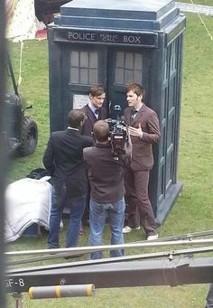 doctor who eleventh doctor matt smith David Tennant TARDIS Tenth Doctor 50th anniversary - this makes me so happy and excited!