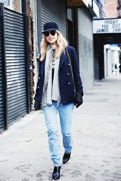 New_York_Fashion_Week-Street_Style-Fall_Winter-2015-Look_De_Pernille-CUp-Levis-Vintage_Jeans- by collagevintageblog, via Flickr