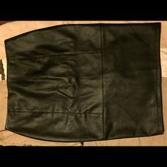 ASOS Faux Leather Pencil Skirt ASOS Faux Leather Pencil Skirt...Worn Once...Size 12 ASOS Skirts Pencil