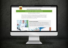 Neue Website von Firma HOLZ & Söhne (B&S Werbeagentur Münster)