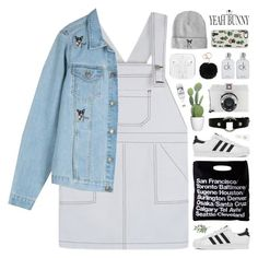 """""""YeahBunny 🐰💖🌹"""" by novalikarida ❤ liked on Polyvore featuring American Apparel, adidas, Casetify, Pier 1 Imports, Lomography, Calvin Klein and YeahBunny"""