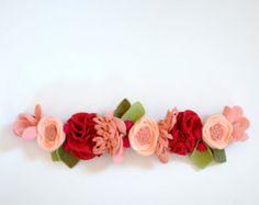 A N E M O N E // felt flower crown // fancy por fancyfreefinery