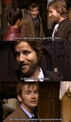 The doctor and Shakespeare