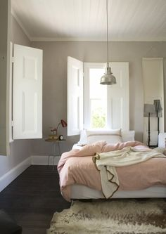 shutters on hinges; great for kids rooms where you go from light to dark quickly! @ DIY Home Design