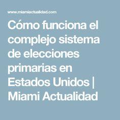 Cómo funciona el complejo sistema de elecciones primarias en Estados Unidos | Miami Actualidad