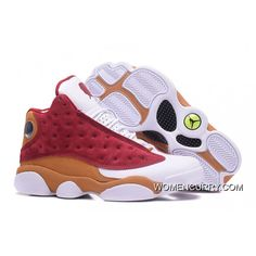 "78d61666cb88 ""BIN 23"" Air Jordan 13 Retro Premio Team Red Desert Clay-White Discount"