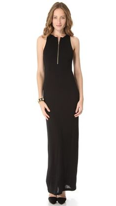 """This $121 basic dress is FIRE, but you DO know adding a zipper to a tank dress would be a fraction of the price? """"Pencey Standard Long Zip Tank Dress"""""""