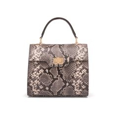 Designed exclusively for SageBrown, we are proud to introduce our Signature Morgan Bag in mock python snake skin adding style and elegance to any wardrobe. The bag features a metal twist clasp on the front which when opened reveals a single, spacious c Positano, Amalfi, Italy Summer, Python Snake, Pompeii, Naples, Travel Accessories, Vacations, Essentials
