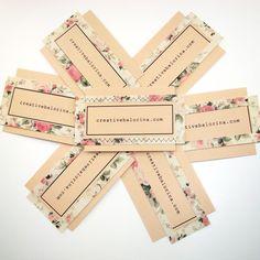 cute idea for diy business cards | Stationary | Pinterest ...