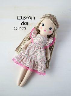 Ballerina Doll, Little Elephant, Soft Dolls, Custom Dolls, Fabric Dolls, Baby Dolls, Doll Clothes, Etsy Shop, Toys