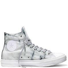 Converse - Chuck Taylor All Star II Marble - Silver - Hi Top