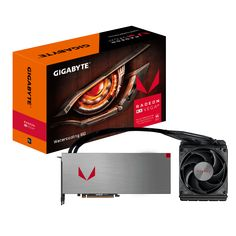 Видео карта Gigabyte Radeon RX Vega 64 XTX Watercooling 8GB HBM2 (GA-VC-RXVEGA64 W-8GD-B)
