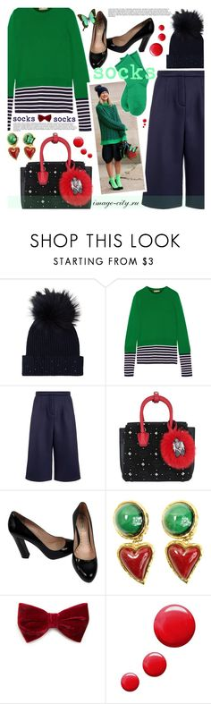 """""""socks"""" by lyusilgrig ❤ liked on Polyvore featuring M. Miller, Michael Kors, Emma Cook, MCM, Miu Miu, Christian Lacroix, Forever 21 and Topshop"""