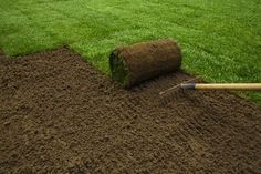 Tips for Soil Preparation Before Laying Sod Landscaping Calgary, Fire Pit Landscaping, Commercial Landscaping, Landscaping Retaining Walls, Front Yard Landscaping, Landscaping Ideas, Backyard Ideas, Sod Grass, Grass Seed