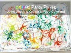 Are you ready to learn about a cool craft idea you can do using shaving cream and food coloring? I will show you how to make a colorful print on blank paper with these materials! We had tons of fun at our house last night doing this. Materials you need to make your own […]