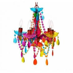 Small Gyspy Chandelier- Multi £75