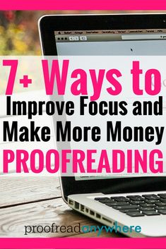How to be a proofreader from home