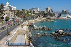 Seafront in Vina del Mar, Chile Top Of The World, Travel Around The World, Around The Worlds, Living In Peru, Places To Travel, Places To Go, Trinidad Y Tobago, Easter Island, Day Tours