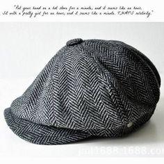 2e47026775a Fashion Gentleman Octagonal Cap Newsboy Beret Hat Autumn And Winter For  Men s Jason Statham Male Models