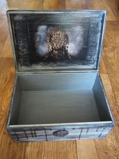 Games of thrones - decoupage box