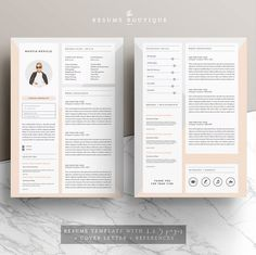 Resume Templates and Resume Examples - Resume Tips Resume Design Template, Cv Template, Resume Templates, Templates Free, Microsoft Word, Cover Letter Template, Letter Templates, Cv Curriculum Vitae, Brochures