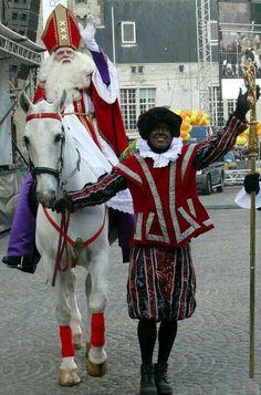 Sinterklaas en Zwarte Piet in the Netherlands
