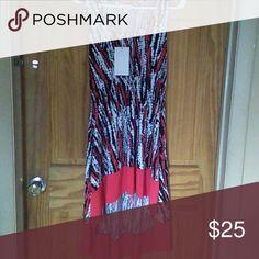 New dress Multi color Hi Low dress Dresses High Low