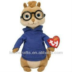 0bfce5eb98b Simon from Alvin and the Chipmunks Beanie Babies Stuffed Plush Toy  https   app