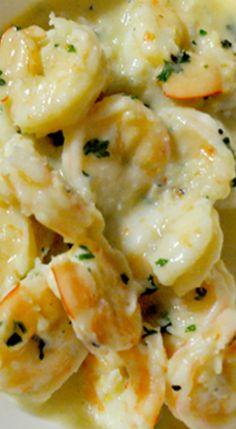 Creamy Garlic Prawns - used less Butter, Cloves Garlic & 1 tsp Dijon Mustard ☆☆☆☆☆ Prawn Dishes, Fish Dishes, Seafood Dishes, Shrimp Recipes, Fish Recipes, Recipes With Prawns, Cooked Prawn Recipes, Recipies, Creamy Garlic Prawns