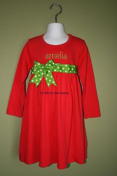 Christmas dress for Marisa?