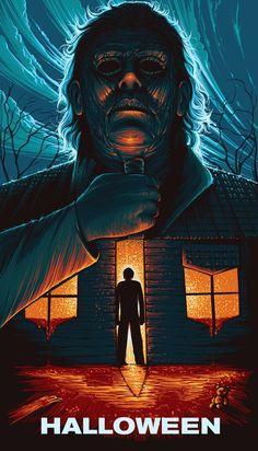 Halloween Poster - Created by Jireh Villafuerte poster michael myers Halloween 2018, Halloween Film, Halloween Tags, Halloween Poster, Halloween Horror, Horror Icons, Horror Movie Posters, Movie Poster Art, Best Horror Movies
