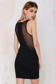 Lace Bodycon Dress - LBD