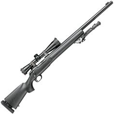 U. S. Army M-24 Sniper rifle in 7.62 NATO, a militarized version of the Remington 700BDL.