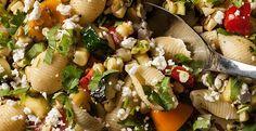 Receta Ensalada de Pasta con verduras a la parrilla | Los Sabores de México y el mundo