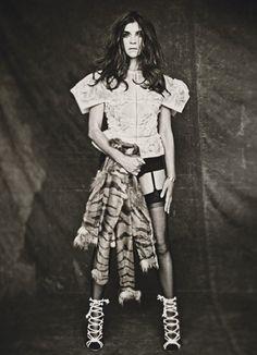 W Magazine October 2011 Editorial - Carine Roitfeld