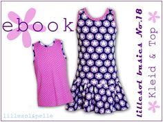 Ebook lillesol basic No.18 Sommerkombi Kleid  Top