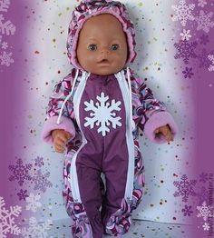 Теплый комбинезон в ассортименте - беби бон,Беби Борн,одежда для беби бона