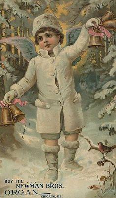 Newman Brothers Organ Company Victorian Trade Card
