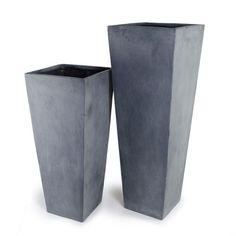 Fiberglass Column Pot - New Growth Designs