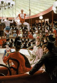 Women of Paris: The Circus Lover by James Jacques Joseph Tissot