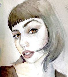 """Check out this @Behance project: """"Retratos"""" https://www.behance.net/gallery/49055469/Retratos"""