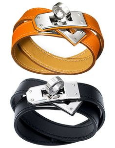 Hermes Leather Bracelets