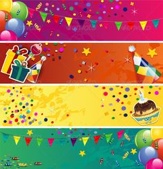 Banner Design Templates for Birthday (11) | PROFESSIONAL TEMPLATES Happy Birthday Banner Printable, Birthday Banner Design, Printable Birthday Banner, Free Printable Banner, Birthday Card Template, Happy Birthday Banners, 22 Birthday, Banner Template Photoshop, Free Banner Templates