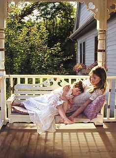 Jean Monti - Mother and daughter Tribute To Mom, Robert Duncan, Tres Belle Photo, Mother And Child, Mothers Love, Rhode Island, Love Art, Art For Kids, Photoshoot