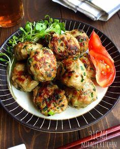 ♡超簡単モテレシピ♡ヘルシーごぼう鶏つくね♡【#時短#節約#作りおき#鶏ひき肉】 : Mizuki